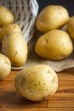 Golden Potatoes Royalty Free Stock Image