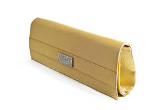 Golden Pouch 1 Royalty Free Stock Photos