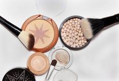 Golden powders Royalty Free Stock Image