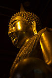 Golden pra phutasinsri buddha statue image. In Phisanulok Temple Thailand Royalty Free Stock Photography