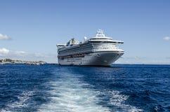 GOLDEN PRINCESS CRUISE SHIP Royalty Free Stock Photos