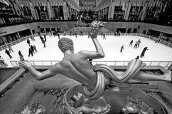 The golden Prometheus Royalty Free Stock Photography