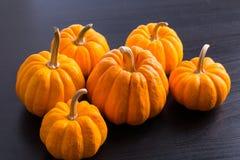 Golden Pumpkin fruit Stock Images