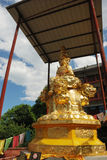 Golden Puxian Buddha Royalty Free Stock Image