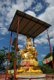Golden Puxian Buddha Royalty Free Stock Photo