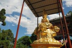 Golden Puxian Buddha Royalty Free Stock Photos