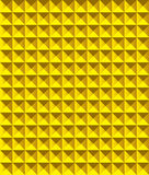 Golden Pyramid Pattern. Stock Photos