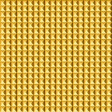 Golden pyramid seamless pattern Royalty Free Stock Photo