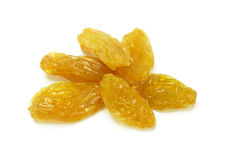Golden raisins Stock Photo