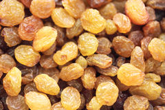 Golden raisins. Background/background made up of raisins Stock Image
