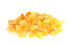 Golden raisins Royalty Free Stock Images