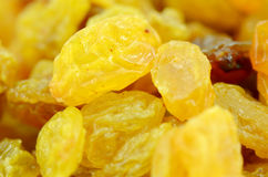Golden Raisins. Royalty Free Stock Images