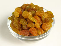 Golden Raisins Stock Images