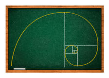 Golden ratio Stock Images