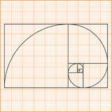 Golden Ratio Royalty Free Stock Image