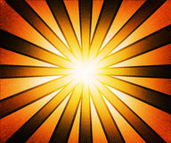 Golden Rays Background Stock Photography