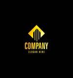 Golden Real Estate Logo Stock Photos