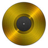 Golden record Stock Photography