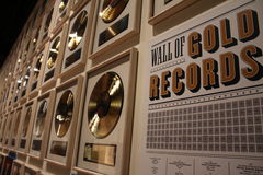 Golden Records Stock Photos