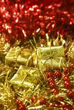 Golden and red Royalty Free Stock Photos