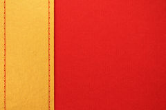 Golden and red design paper Stock Images