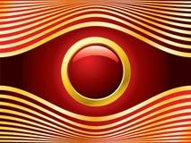 Golden red eye Stock Images