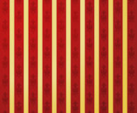 Golden red glamour pattern Royalty Free Stock Image
