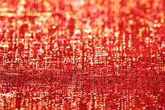 Golden red glitter sparkles  background Royalty Free Stock Photo
