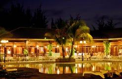 Golden Resort Stock Photo