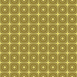 Golden Retro Background Texture Seamless Tilable Royalty Free Stock Image