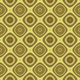 Golden retro background texture seamless tilable. Seamless tillable background texture with old-fashioned or retro look vector illustration