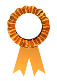 Golden ribbon Royalty Free Stock Images