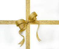 Free Golden Ribbon Stock Photography - 5764482