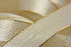 Golden ribbon background Royalty Free Stock Photography