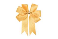 Golden ribbon Royalty Free Stock Photo
