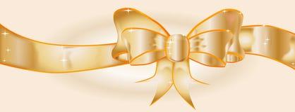 Golden Ribbon Royalty Free Stock Photos