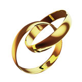 Golden ring Royalty Free Stock Image