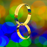Golden ring Stock Photo