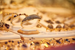 Golden ring Stock Images