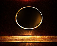 Golden Ring Frame Royalty Free Stock Images