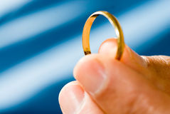Golden Ring - horizontal Stock Photo