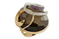 Golden ring Royalty Free Stock Photo