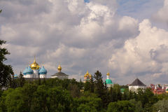The Golden ring of Russia. Sergiev Passad. View Of The Trinity-Sergius Lavra. Royalty Free Stock Photography