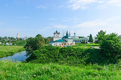 The Golden ring of Russia, Suzdal city. Stock Photography