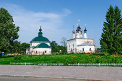 The Golden ring of Russia, Suzdal city. Stock Photos