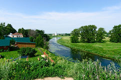 The Golden ring of Russia, Suzdal city. Stock Photo