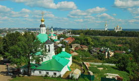Ancient Russian city of Vladimir Royalty Free Stock Photo