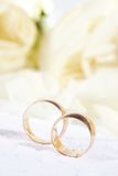 Golden rings Royalty Free Stock Photography
