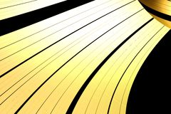 Golden Rings of Gas Giant Royalty Free Stock Photography