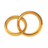 Golden Rings Royalty Free Stock Images